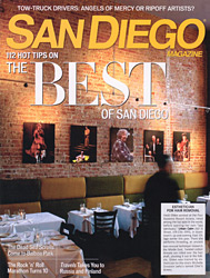 Urban Calm Spa in San Diego Magazine